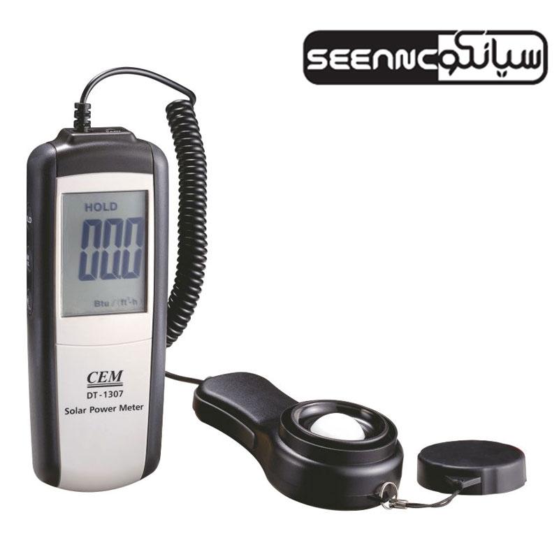 دستگاه سنجش تشعشع خورشید (سولارمیتر) CEM DT-1307