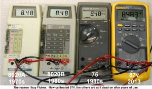 مولتی متر دیجیتال نمایندگی فروش انواع مولتی متر هیوکی فلوک و فلیر