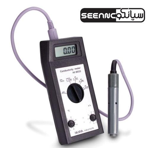 دستگاه ECمتر و TDSمتر دیجیتال (هدایت سنج) HANNA HI8033