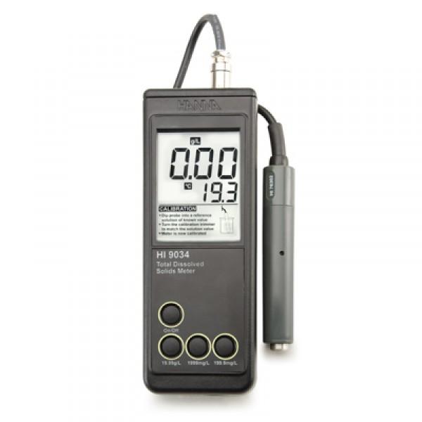 دستگاه پرتابل سختی سنج آب، متر TDS مدل HI9034 HANNA