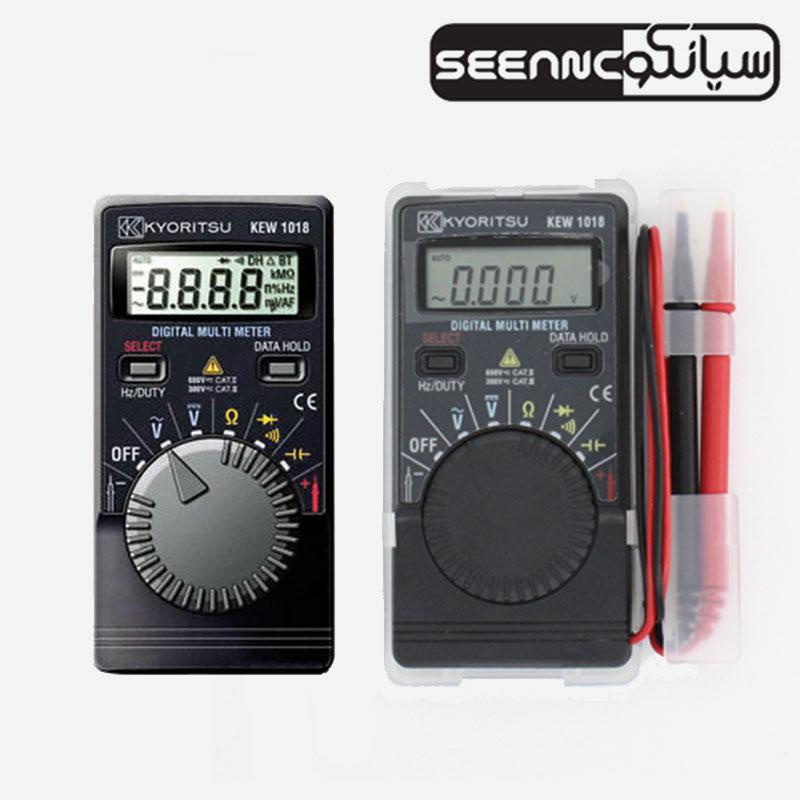مولتی متر دیجیتال جیبی ارزان قیمت سری KEW 1018