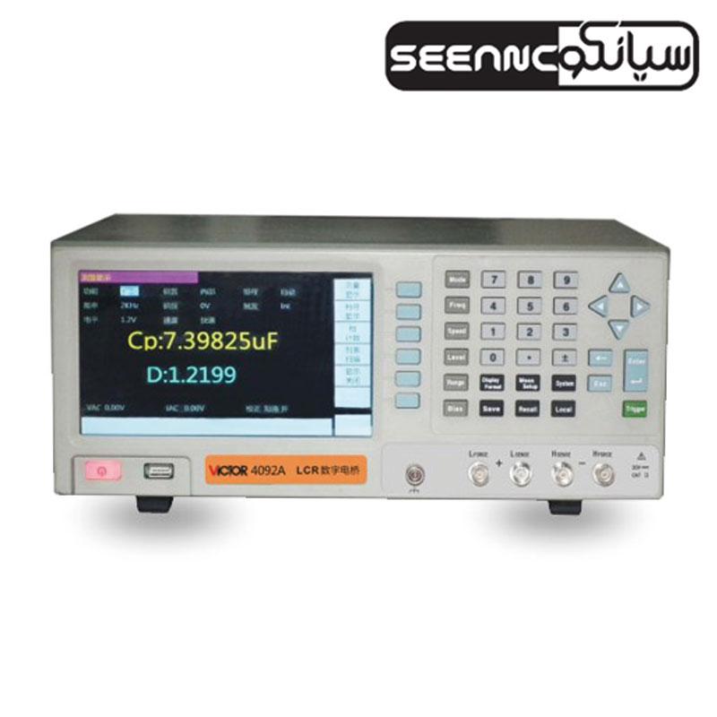 دستگاه LCR متر رومیزی ویکتور سری VICTOR 4092