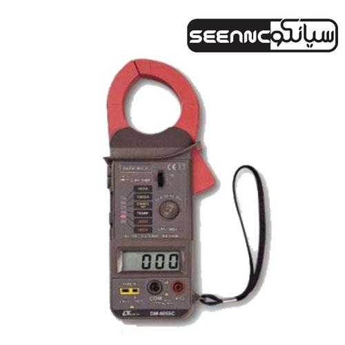 کلمپ آمپرمتر خاص|کلمپ ترمومتر دار لوترون LUTRON DM-6055C