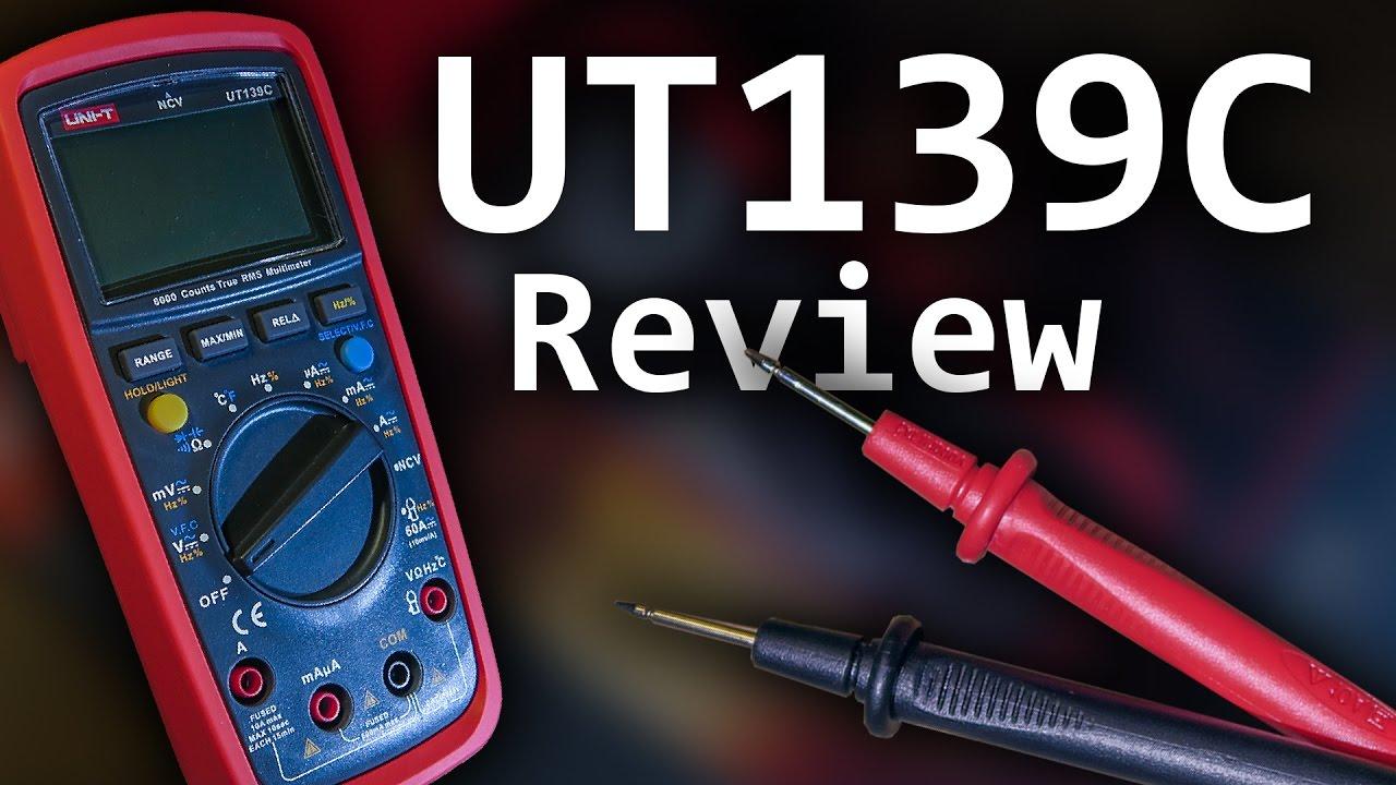 دستگاه مولتی متر دیجیتال یونی تی مدل UNI-T 139-C