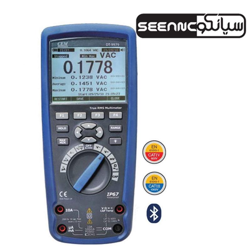 مولتی متر دیجیتال ارزان حرفه ای مدل CEM-DT-9979