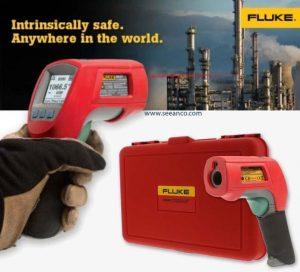 دماسنج صنعتی مادون قرمز و ضد انفجار فلوک آمریکا مدل Fluke 568 Ex